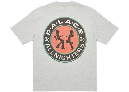 Palace All Nighters TShirt Grey Marl  (FW20)の写真