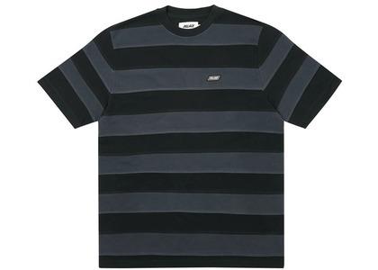 Palace Dat Stripe TShirt Black  (FW20)の写真