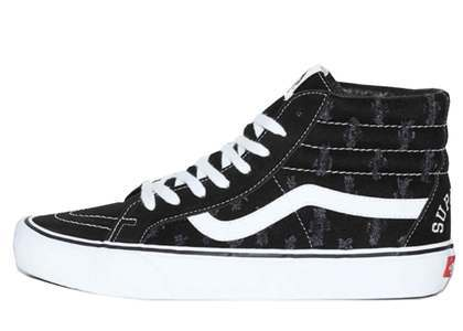 Supreme × Vans Sk-8-Hi Hoie Punch Denim Blackの写真