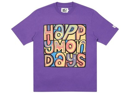 Palace Happy Mondays Cover TShirt Purple  (FW20)の写真