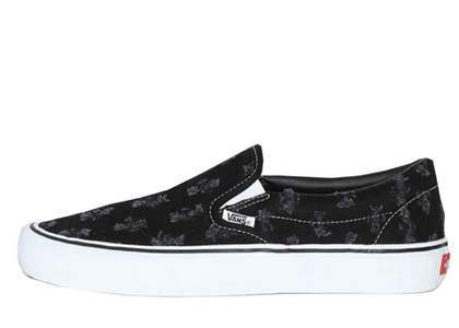 Supreme × Vans Slip-On Hoie Punch Denim Blackの写真