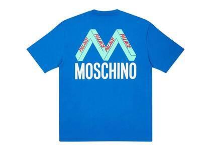 Palace Moschino TShirt Blue  (FW20)の写真