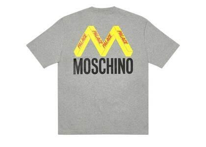 Palace Moschino TShirt Grey Marl  (FW20)の写真