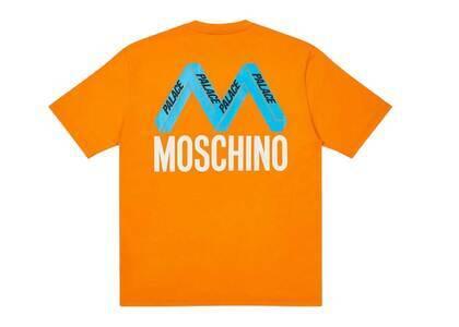 Palace Moschino TShirt Orange  (FW20)の写真