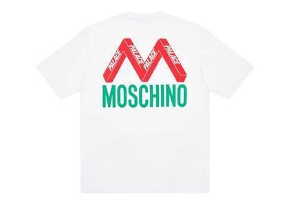 Palace Moschino TShirt White  (FW20)の写真