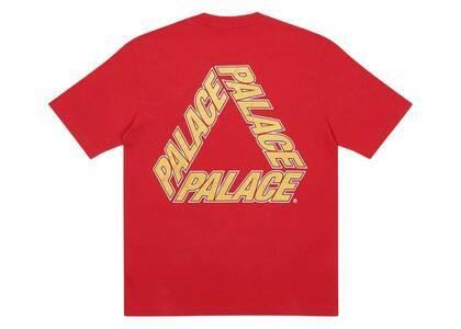 Palace P3 Team TShirt Red  (FW20)の写真