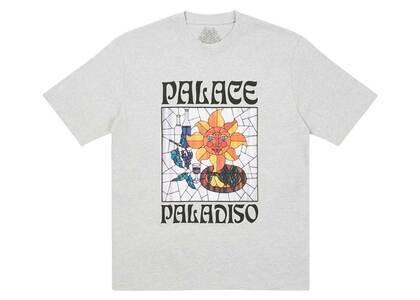 Palace Paladiso TShirt Grey Marl  (FW20)の写真
