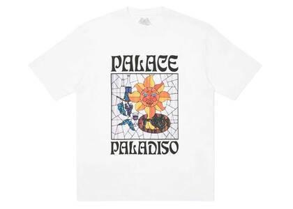 Palace Paladiso TShirt White  (FW20)の写真