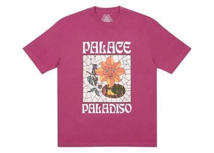 Palace Paladiso TShirt Wine  (FW20)の写真