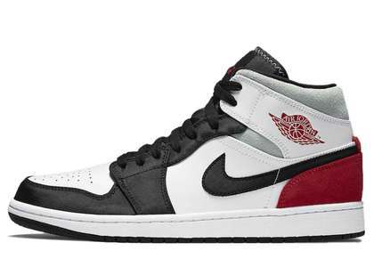 Nike Air Jordan 1 Mid SE Black White Chile Redの写真