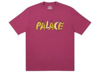 Palace PalWalk TShirt Wine  (FW20)の写真
