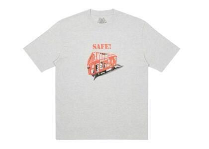 Palace Safety TShirt Grey Marl  (FW20)の写真