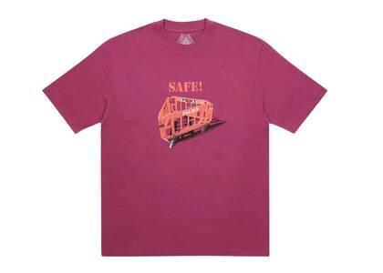 Palace Safety TShirt Wine  (FW20)の写真