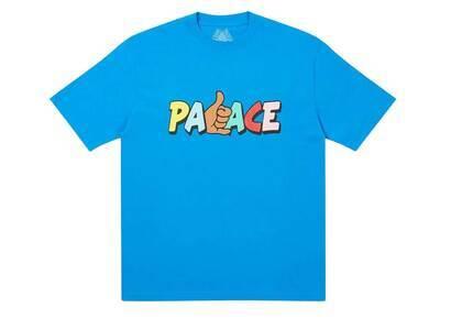 Palace Shitfaced Shaka TShirt Blue  (FW20)の写真