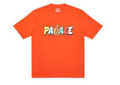 Palace Shitfaced Shaka TShirt Dark Orange  (FW20)の写真