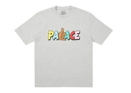 Palace Shitfaced Shaka TShirt Grey Marl  (FW20)の写真