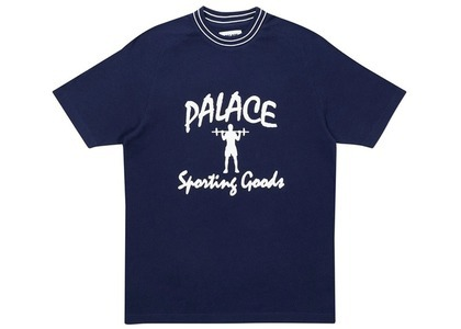 Palace Sporty Breddas TShirt Navy  (FW20)の写真
