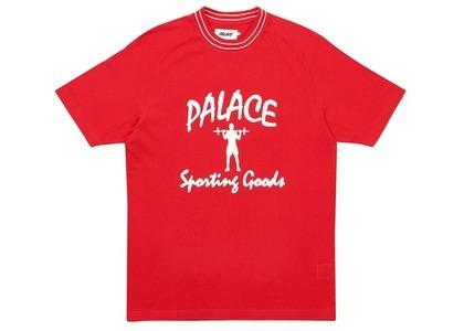 Palace Sporty Breddas TShirt Red  (FW20)の写真