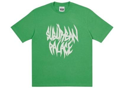 Palace Suburban Bliss Paintbrush TShirt Green  (FW20)の写真