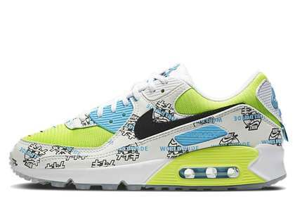 Nike Air Max 90 Worldwide Pack Katakana Volt Womens