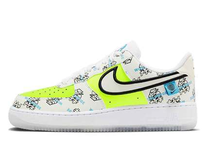 Nike Air Force 1 Worldwide Pack Katakana Volt
