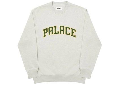 Palace Alas Crew Grey Marl  (FW20)の写真