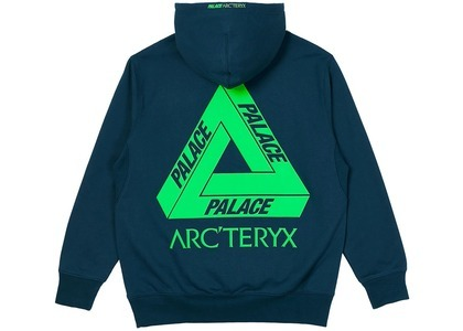 Palace Arc'Teryx Hood Teal  (FW20)の写真