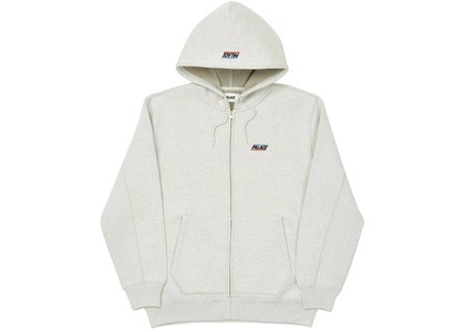 Palace ARD Quality Zip Hood Grey Marl  (FW20)の写真