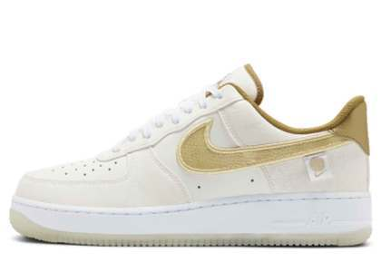 Nike Air Force 1 Worldwide Pack Katakana White Goldの写真