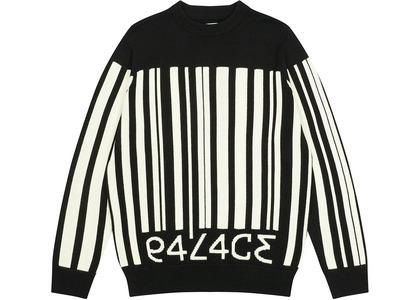 Palace Barcode Knit Black  (FW20)の写真