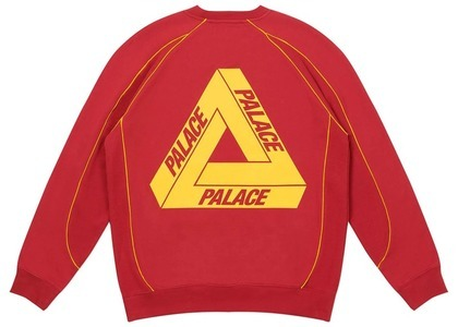 Palace Bowl Out Crew Burgundy  (FW20)の写真