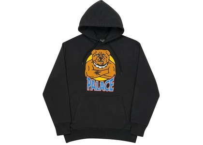 Palace Bulldog Hood Black  (FW20)の写真