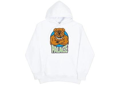 Palace Bulldog Hood White  (FW20)の写真