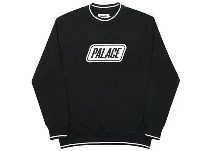 Palace Das Palace Waffle Crew Black  (FW20)の写真