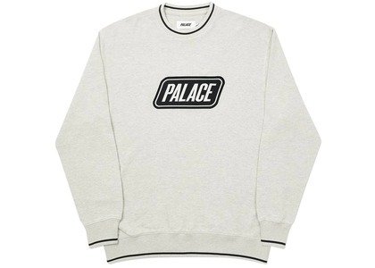 Palace Das Palace Waffle Crew Grey Marl  (FW20)の写真
