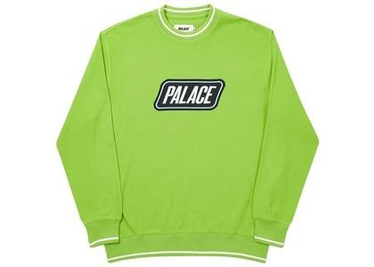 Palace Das Palace Waffle Crew Lime  (FW20)の写真