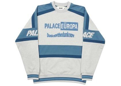 Palace Europa Crew Grey Marl  (FW20)の写真