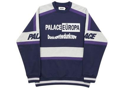 Palace Europa Crew Navy  (FW20)の写真