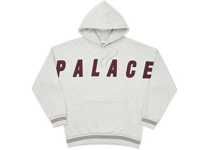 Palace Full Frontal Hood Grey Marl  (FW20)の写真