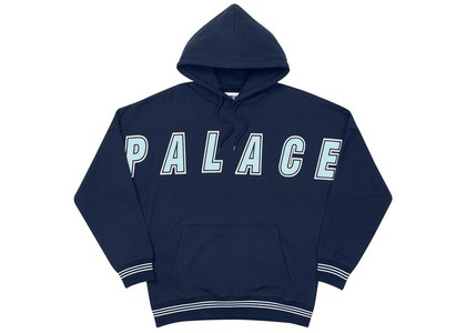 Palace Full Frontal Hood Navy  (FW20)の写真