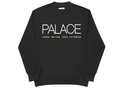 Palace Globaller Crew Black  (FW20)の写真