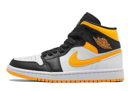 Nike Air Jordan 1  Mid SE Laser Orange Womensの写真