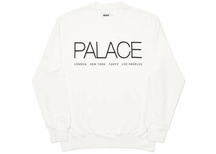 Palace Globaller Crew White  (FW20)の写真