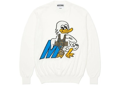 Palace Moschino Knitted Jumper White  (FW20)の写真