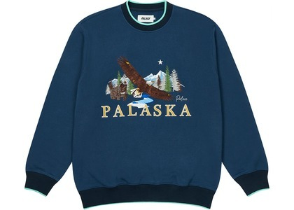 Palace Palaska EMB Crew Blue  (FW20)の写真