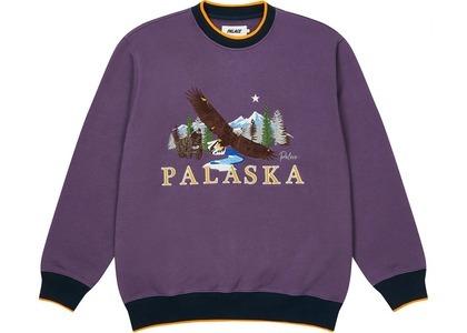Palace Palaska EMB Crew Purple  (FW20)の写真