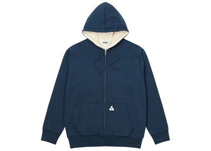 Palace Patch Thermal Zip Hood Navy  (FW20)の写真