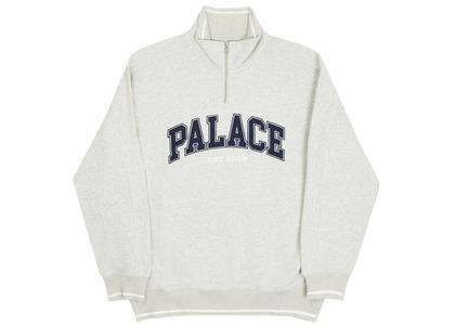 Palace PEst Zip Crew Grey Marl  (FW20)の写真