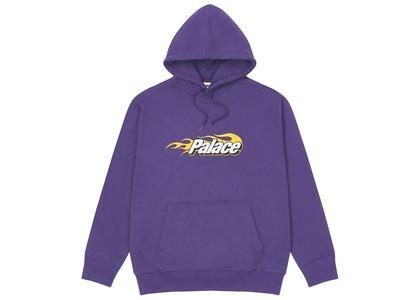 Palace PFlames Hood Purple  (FW20)の写真