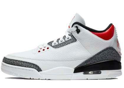 Nike Air Jordan 3 Retro SE-T Fire Red CO.JP